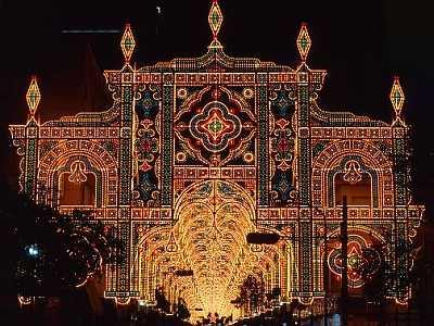 クリスマスイルミネーション神戸ルミナリエ